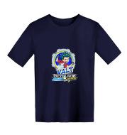 Printed casual children's clothing short T-shirt custom