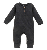 Long sleeve baby jumpsuit
