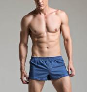 Cotton Check Men's Boxer Shorts