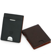 RFID Men's First Layer Leather Wallet