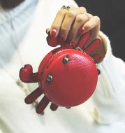 Small crab coin purse