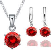 Fashion pendant earrings two piece set