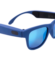 Bone conduction headset glasses Bluetooth glasses bone sensing intelligent sports hearing aid sunglasses