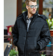 Men's cotton clothing Autumn and winter hooded Korean version of the thick cotton jacket explosion models middle-aged cotton men