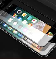 PhoneX 8 7 6s Plus All-inclusive 3D carbon fiber soft edge tempered glass protective film