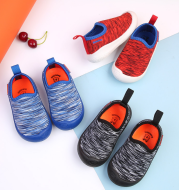 Baby shoes autumn new soft bottom non-slip toddler shoes men's cotton casual breathable baby shoes