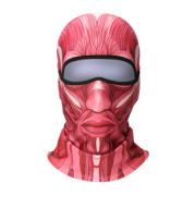 3D animal headgear mask cold face protection warm mask riding ski equipment windproof mask