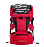 Baby sling multi-function baby waist stool front cross-holding bag four seasons breathable summer back-style holding baby artifact