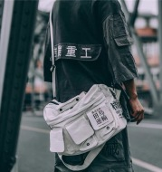 Jiye Heavy Industry Shoulder Diagonal Backpack