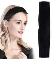 Velvet wig hair band