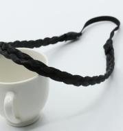 Bohemian linen flower braid