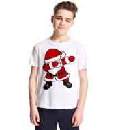 Christmas cartoon children's T-shirt