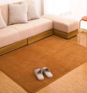 Memory cotton coral velvet carpet Living room bedroom door mats Bathroom kitchen non-slip absorbent carpets