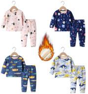 Plus velvet thick children's wear