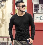Male slim bottoming shirt