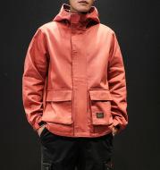 Rannoch Velcro Patch Cargo Style Hooded Jacket