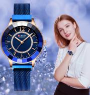 Waterproof quartz watch