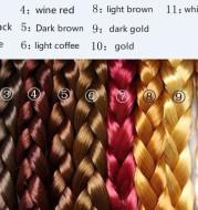 Bohemian braided headband