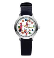 Canvas student wristwatch