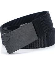 Toothless non-porous men's belt nylon belt
