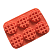 Silicone Waffle Muffin Mold
