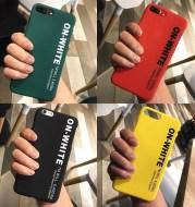 English alphabet phone case