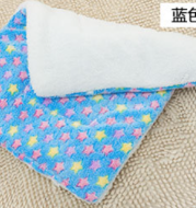 Pet blanket kennel mat pet cotton pad cat dog cushion autumn and winter warm dog mat