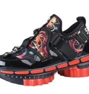 Viggo Gear Sole Strap Locked Sports Shoes