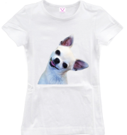 Chihuahua Beauty Print T-Shirt
