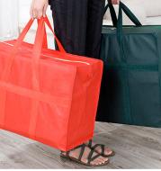 Waterproof storage snakeskin bag