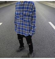 Plaid pullover shirt