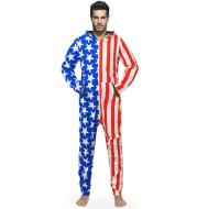 Striped flag onesies