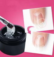 Manicure extension glue repair