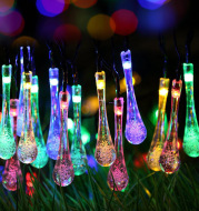 Outdoor christmas light string