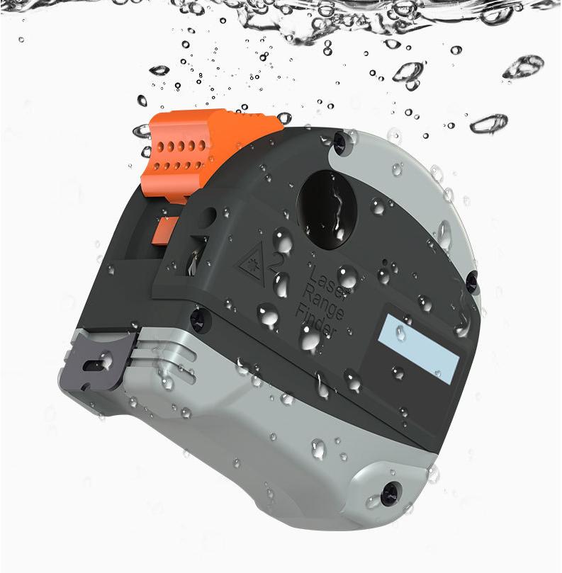 CREST 30M 40M Laser Rangefinder Anti-fall Steel Tape High Precision Infrared Digital Laser Distance Meter Measure