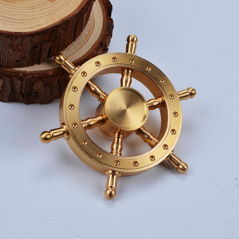 Magnificent Hexagon Pirates Ship wheel Fidget Spinner