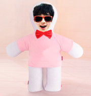 Customized humanoid pillow diy photo doll