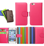 mitation leather phone case  left and right card flip cover bracket leather case
