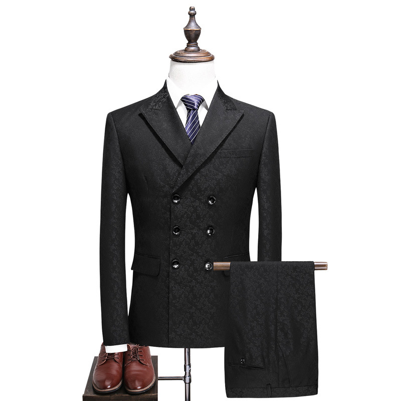 125490628507 Slim suit three-piece suit