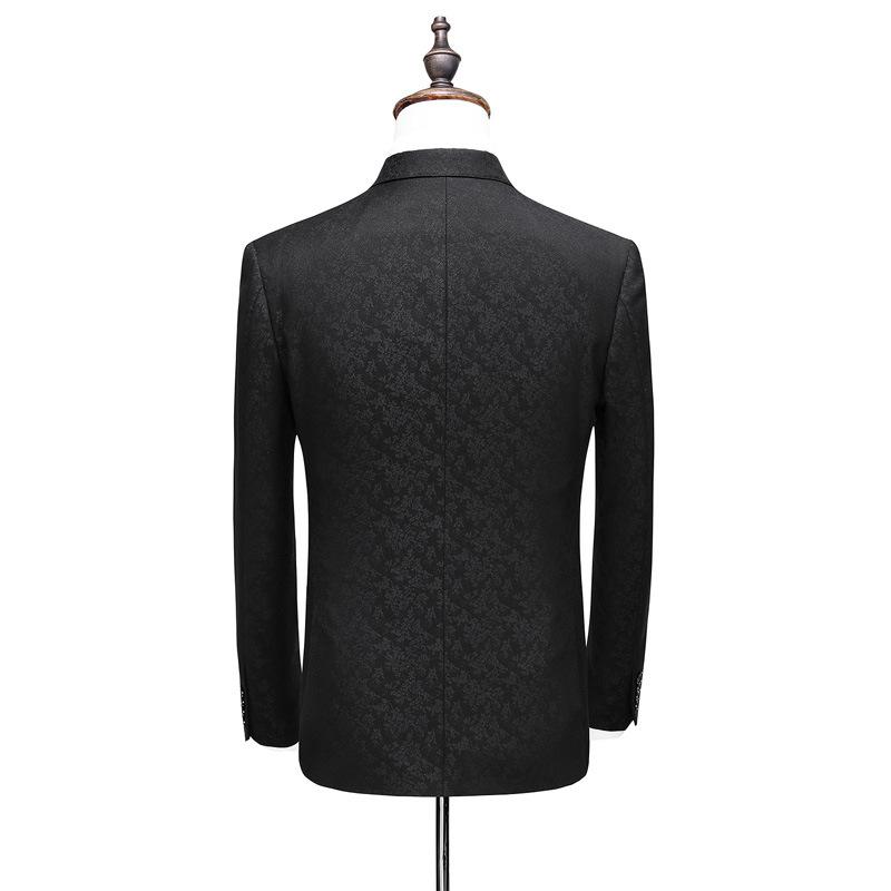 1272997989968 Slim suit three-piece suit