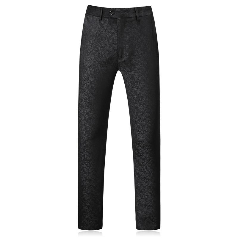 1823610826653 Slim suit three-piece suit