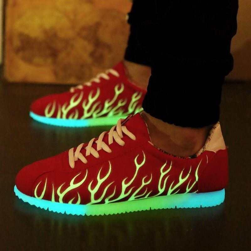 1866637982389 Led luminous luminous shoes