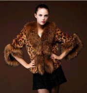 Fur coat girl