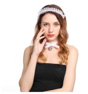 Lace small lace headband bride bridesmaid tiara erotic accessories