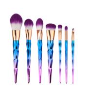 7 makeup brushes, makeup tools, diamond makeup brush foundation brush