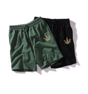 Golden Hemp Embroidered Shorts