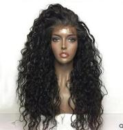 New product explosion European and American fashion wig ladies front lace chemical fiber wig set