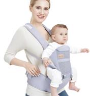 Baby carrier waist stool