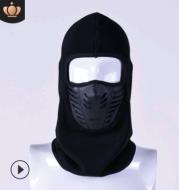 Winter riding men and women ski mask outdoor face CS hat head cap thickening fleece mask hat
