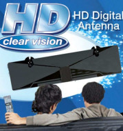 HD Clear Vision Digital Antenna TV antenna satellite receiver suction plate fixation